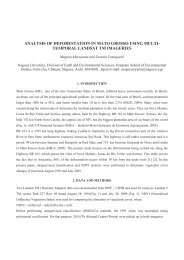 analysis of deforestation in mato grosso using multi-temporal ...