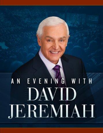 An Evening With David Jeremiah Jacksonville, FL - Dr. David ...