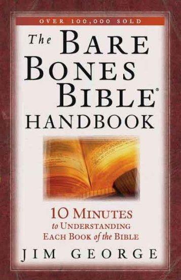 The Bare Bones Bible Handbook - Dr. David Jeremiah