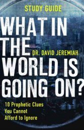 the crude awakening - Dr. David Jeremiah