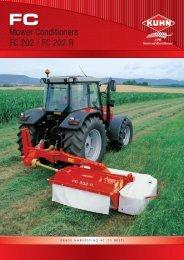 Mower Conditioners FC 202 / FC 202 R - AGROTIP