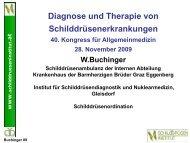 Diagnose und Therapie von Schilddrüsenerkrankungen