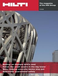 Beijing: an Olympic bird's nest Dubai: the small seams in the big ...
