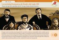 La sociedad burguesa de finales del siglo XIX - Manosanta