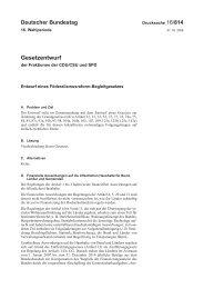 16/814 - Bundesministerium für Bildung und Forschung