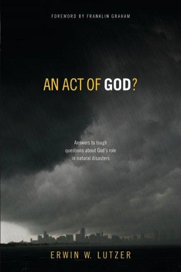 GOD - Dr. David Jeremiah