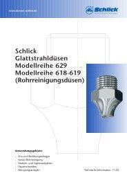 Modellreihe 629 - Düsen-Schlick GmbH