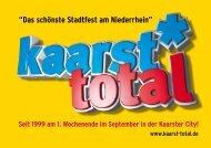 Kaarst Total Imagebroschüre