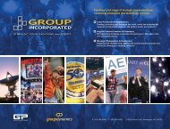 Group Inc Brochure - Group Incorporated