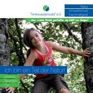 Folder - Trinkwasserwald eV