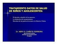 Subgerente de Salud del Instituto de Previsión Social de Paraguay.