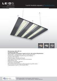 Lucid modula square | Pendelleuchte - REGO-Lighting GmbH