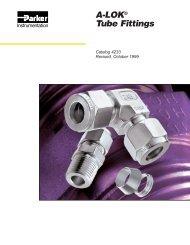 A-LOK® Tube Fittings - regula servis