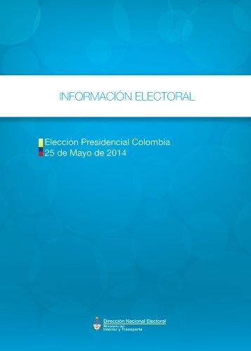 Elecciones_Colombia_Presidenciales-25-05-2014 FINAL