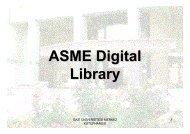 ASME Digital Library - Gazi Üniversitesi