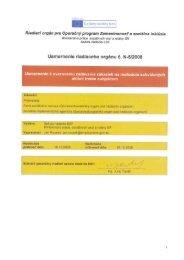 Usmernenie RO č. N5/2008 - Fond sociálneho rozvoja