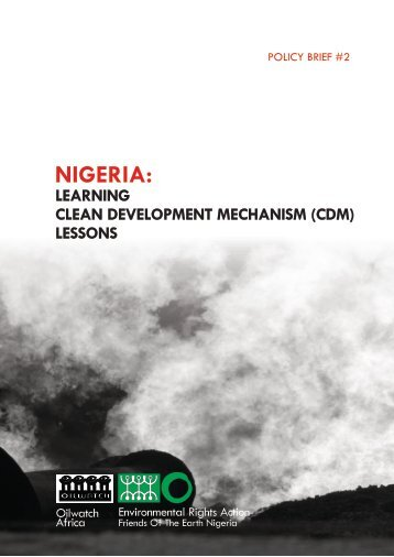 Download link. - Environmental Rights Action