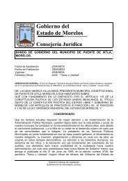 Puente de Ixtla - Gobierno del Estado de Morelos
