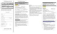 Workshop Descriptions Detection and Reporting of Beta-lactam ...