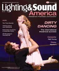 Dirty Dancing: The Classic - Lighting and Sound America