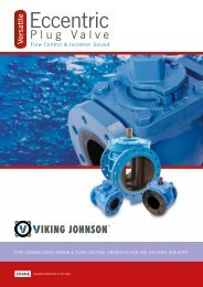 Viking Johnson Eccentric Plug Valve