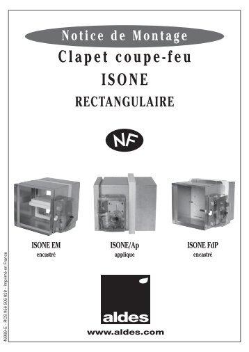Description de clapet anwendung - Installation clapet coupe feu ...