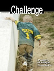 Challenge - Fall/Winter 2010 - Tiffin University