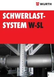 Schwerlastsystem W-SL - Würth
