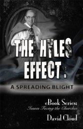 The Hyles Effect - Way of Life Literature