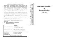 2012-02-05 Programm ORGEL Konzert - Seelsorgeeinheit Markdorf