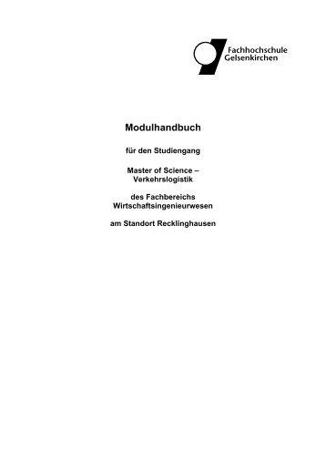 Modulhandbuch - Fachbereiche