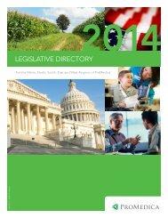 2013 LEGISLATIVE DIRECTORY - ProMedica