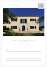 Finca near Cala D'or - Ref. 01-38 - Luxury Holidayhomes on Mallorca