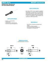 MEDER electronic MK07 Serie