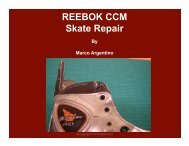 Protective Customization and Repairs by Marco Argentino Reebok ...