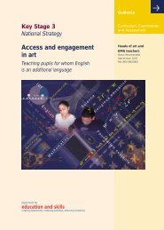 Access and engagement in Art Teaching pupils for whom ... - NALDIC