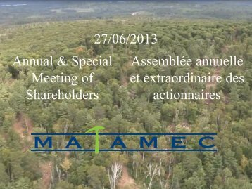 Annual and Extraordinary General Meeting of Shareholders
