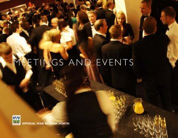 Download our Meetings and Events brochure - Imperial War Museum