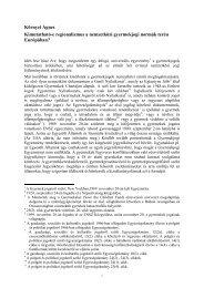 Kimutatható-e regionalizmus a nemzetközi gyermekjogi ... - Grotius
