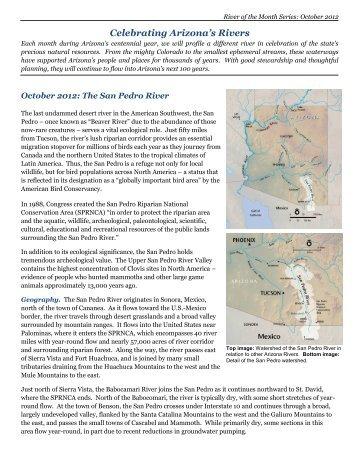 San Pedro River - Western Resource Advocates