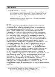 Casel, Isabelle - LISA - Frauenarbeitsgemeinschaft
