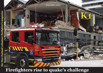 Firefighters rise to quake's challenge - Forest and Rural Fire ...