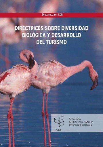 Directrices sobre diversidad biológica y desarrollo del turismo