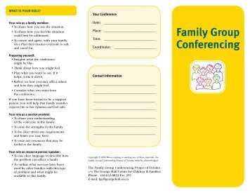 Family Group Conferencing - George Hull Centre
