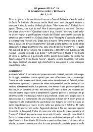 II Domenica dopo l'Epifania gv 2,1-11 - San Pier Giuliano Eymard