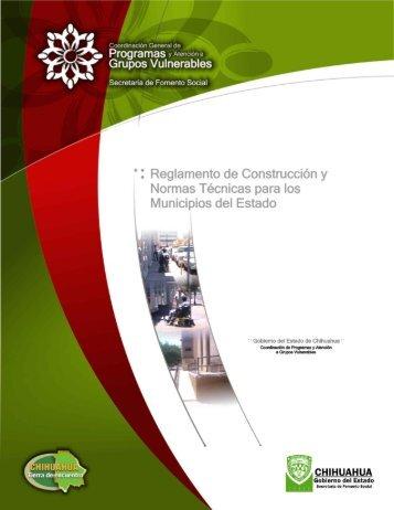 Grupos Vulnerables ' - Gobierno del Estado de Chihuahua