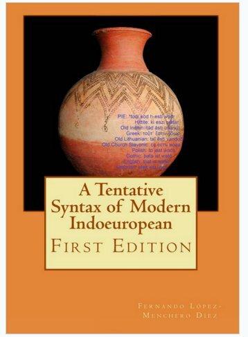 A Tentative Syntax of Modern Indoeuropean