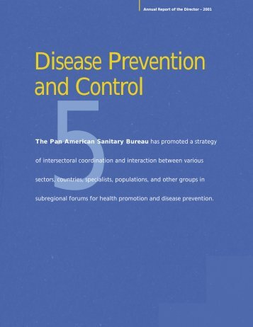 Disease Prevention and Control - p u b l i c a t i o n s . p a h o . o r g ...
