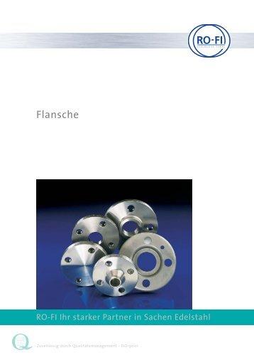 Blindflansche ANSI, 150 lbs - RO-FI Edelstahl