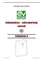 UZN-V-VPH-PREMIUM S-0806-01-SK - KLIMAVEX as
